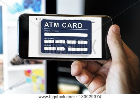 Account ATM Card Bank Finance Concept
