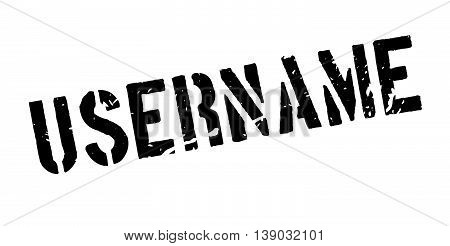 Username Rubber Stamp