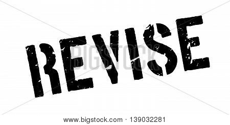 Revise Rubber Stamp