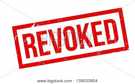 Revoked Rubber Stamp