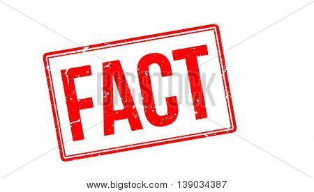 Fact Rubber Stamp