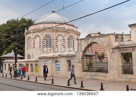 Istanbul Street Near Sinan Pasha Complex