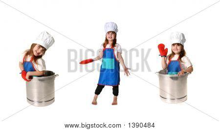 Child Chef In Triplicate