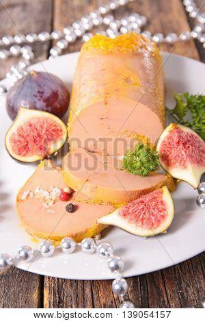 foie gras with fresh fig