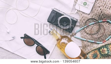 Summer Spring Break Holiday Vacation Leisure Concept