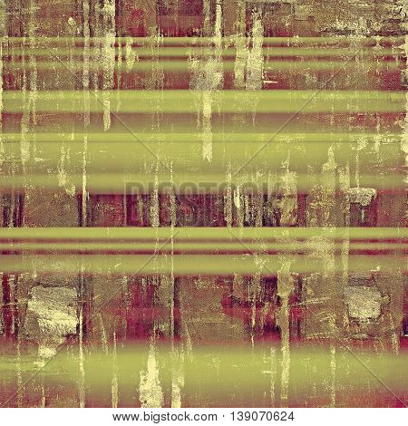 Abstract faded retro background or shabby texture with vintage style design and different color patterns: yellow (beige); brown; gray; green; purple (violet); pink
