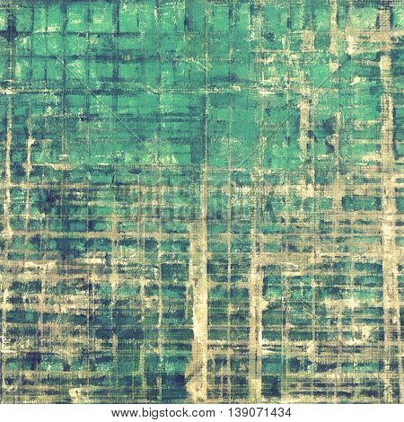 Grunge texture, decorative vintage background. With different color patterns: yellow (beige); brown; gray; green; blue; cyan
