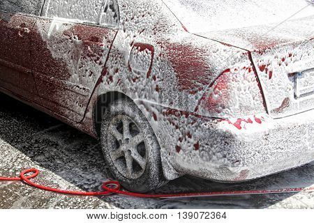 an image of car wash