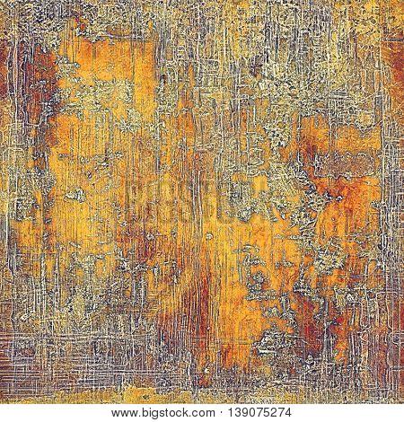 Elegant vintage background, grunge design template. Ancient texture with different color patterns: yellow (beige); brown; gray; red (orange); purple (violet)