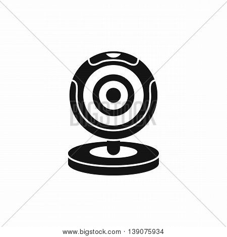 Webcam icon in simple style isolated vector illustration