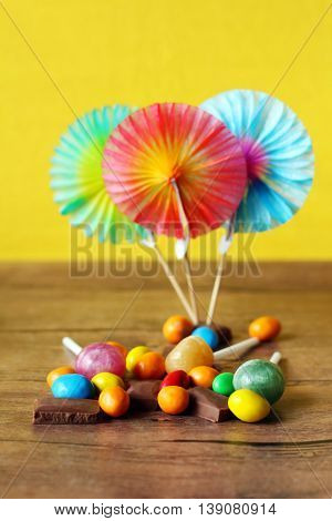 colorful coated candy sweet colored chocolate. sugar