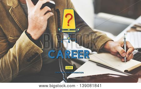 Career Employment Hiring Work Concept