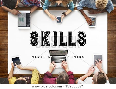 Skills Practice Learning Study Learn Concept