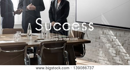 Success Improvement Development Achievement Accomplishment Concept