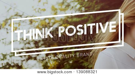 Positive Thinking Freedom Unleashed Concept