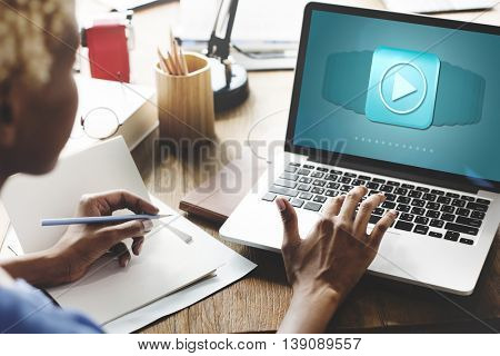 Application Program Icon Software Technology Concept