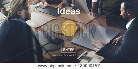 Ideas Innovation Website Technology Online Concept