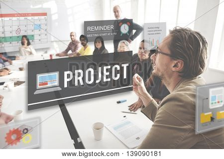 Project Operation Plan Predict Management Task Concept