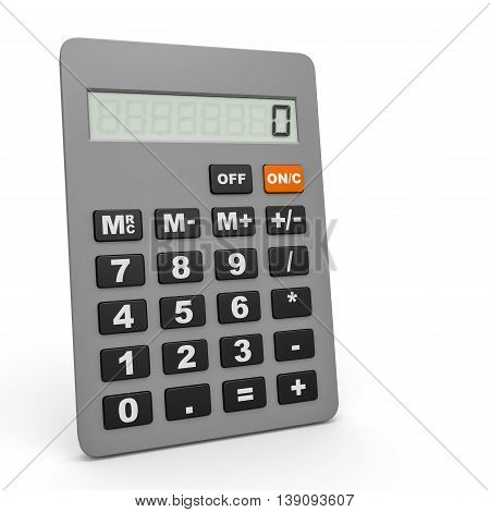 Electronic Calculator.