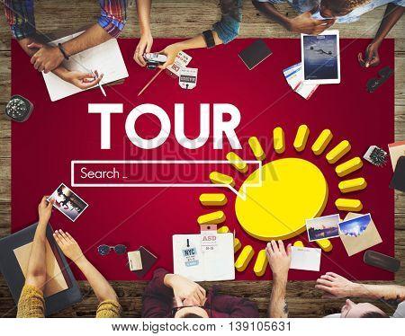 Exploring Tour Destination Concept