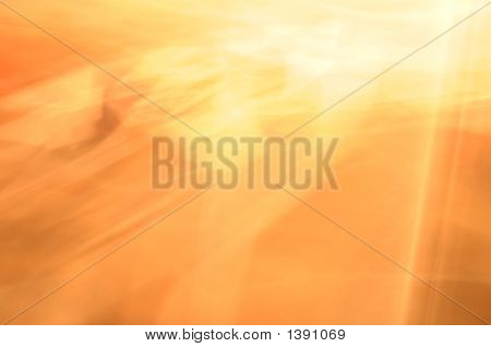 Abstract Sun Blur