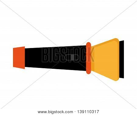 flash light isolated icon design, vector illustration  graphic