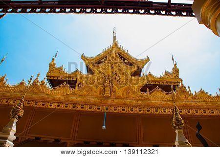 Kyauk Taw Gyee Pagoda, Mandalay, Myanmar