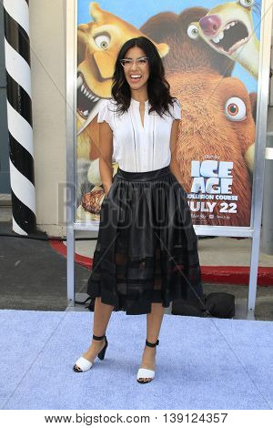 LOS ANGELES - JUL 17:  Stephanie Beatriz at the 'Ice Age: Collision Course' at the 20th Century Fox Lot on July 17, 2016 in Los Angeles, CA
