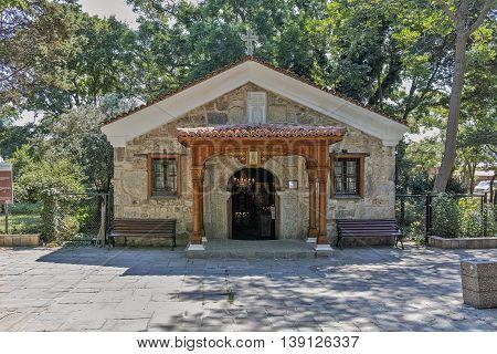 Saints Zosim church, Sozopol Town, Burgas Region, Bulgaria
