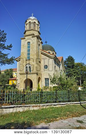 St. Tsar Boris First church, Momchilgrad, Kardzhali Region,  Bulgaria