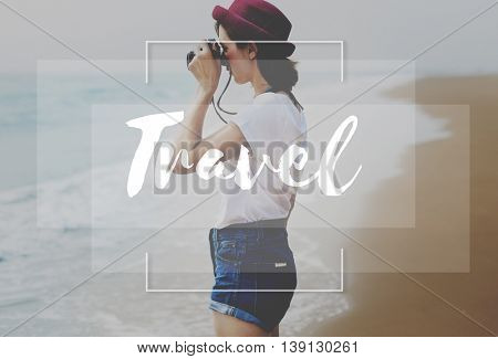 Travel Traveler Exploration Tourism Vacation Trip Concept
