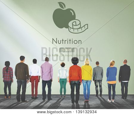 Nutrition Healthy Eating Diet Food Nourishment Concept