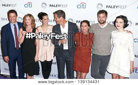 NEW YORK-OCT 12: Joshua Jackson and Ruth Wilson attend 'The Affair' screening at PaleyFest New York 2015 at The Paley Center for Media on October 12, 2015 in New York City.
