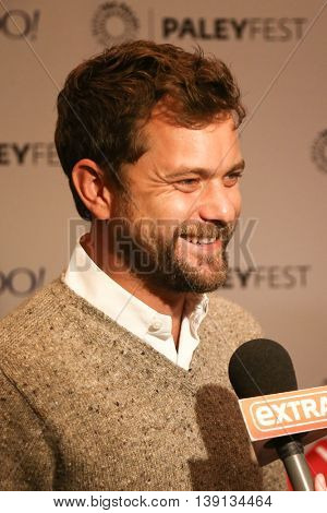 NEW YORK-OCT 12: Joshua Jackson attends 'The Affair' screening at PaleyFest New York 2015 at The Paley Center for Media on October 12, 2015 in New York City.