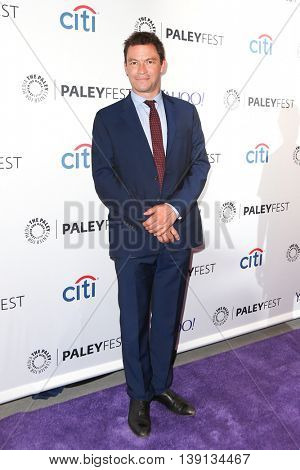 NEW YORK-OCT 12: Dominic West attends 'The Affair' screening at PaleyFest New York 2015 at The Paley Center for Media on October 12, 2015 in New York City.