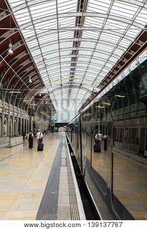 London Paddington Station In London, Uk