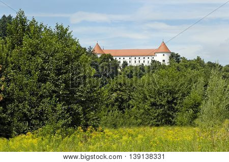 Middle Ages Castle in Slovenia, eastern Europe