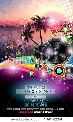 Club Disco Flyer template with Music Elements and Colorful Scalable backgrounds. A lot of different style flyer for your techno, latin or metal  music event Posters and advertising printed material.
