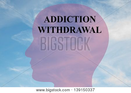 Addiction Withdrawal Mental Concept