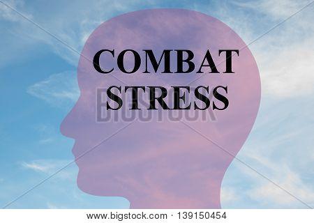 Combat Stress Mental Concept