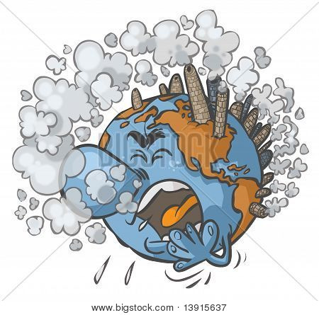 Earth having a cough.