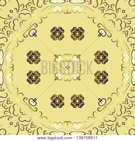 Tribal art ethnic seamless pattern. Boho background texture. Ethno ornament. Cloth design, wallpaper, wrapping