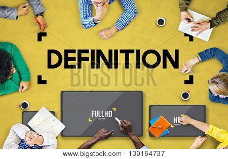 Defination Dictionary Meaning Specification Learn Concept