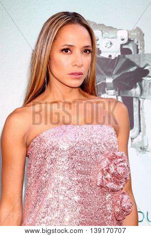 LOS ANGELES - JUL 19:  Dania Ramirez at the