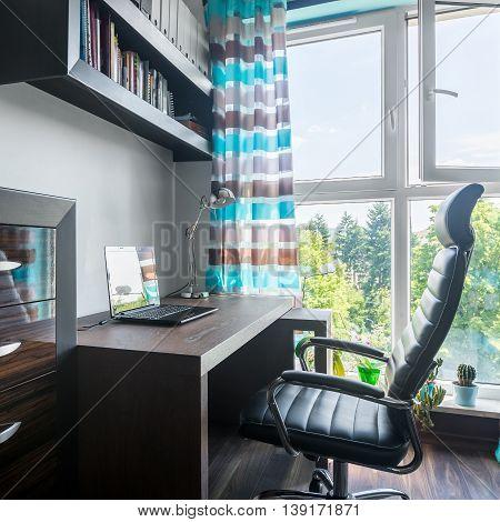 Workspace Near Window