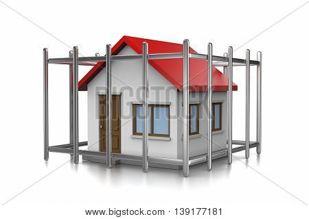 House In Cage
