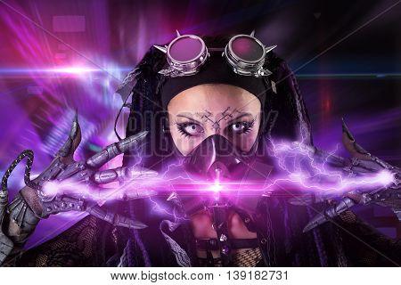 Cyber-gothic Girl