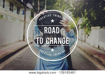 Change Choice Future Ideas Improvement Process Concept