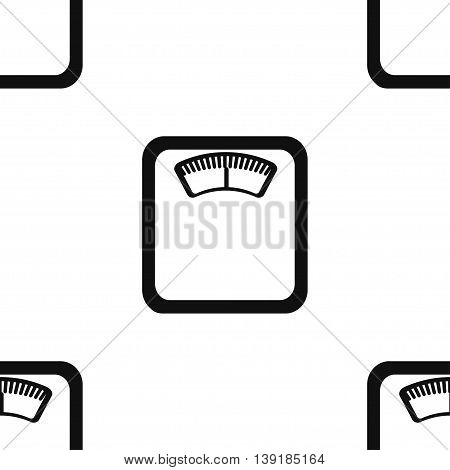 Seamless pattern for wrapping food products. Libra. Vector illustration