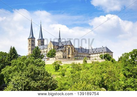 An image of the monastery St. Michael in Bamberg Bavaria Germany